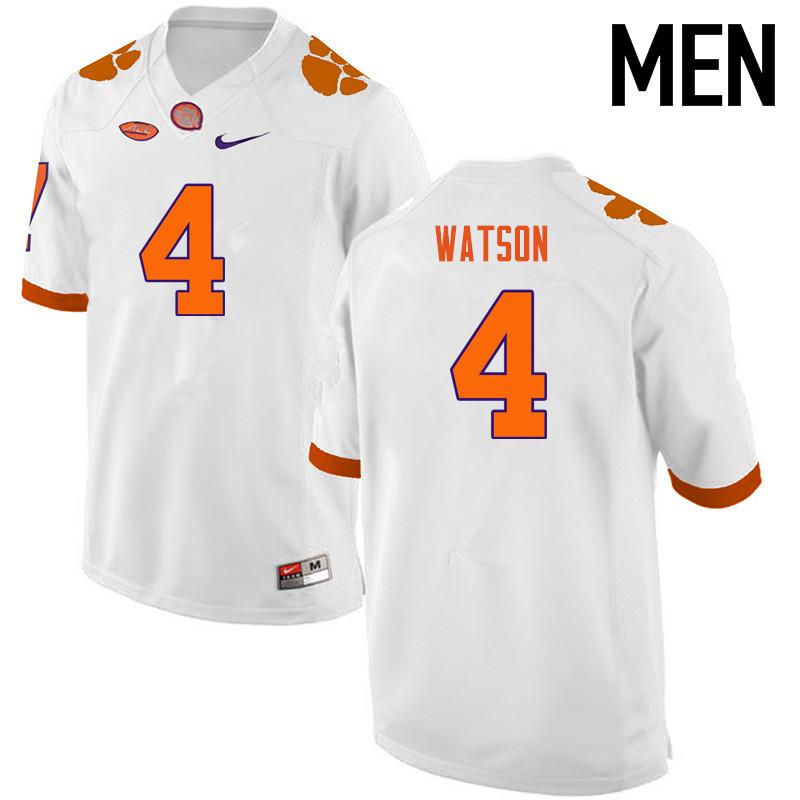 newest collection cee0f a08f1 Deshaun Watson Jerseys Clemson Tigers College Football ...